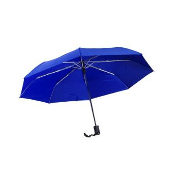 Personalised Auto 3-Fold Umbrella - Royal